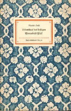 Insel book cover design