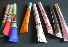 craft, paper rocket, children, paper straws, curious kangaroo, activ, cold days, paper toys, kid