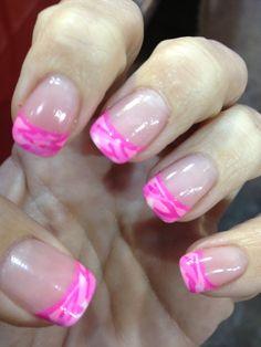 Pink cammo