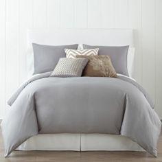 gray duvet cover $59.99