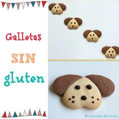 Galletas perro sin gluten