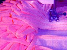 alfombra con red de plastico tutorial
