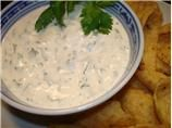Chuy's Creamy Jalapeno Dip  3/4 cup mayonnaise (can use low fat)   3/4 cup milk   1 (1 ounce) packet hidden valley ranch dressing mix   1 (4 ounce) can green chilies   3/4 cup pickled jalapeno pepper  3 tablespoons cilantro   1 teaspoon salt   1 teaspoon garlic powder   1 teaspoon lime juice