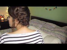 Short Hair Tutorial: Milk Maid Braids!