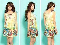 bridesmaid dress on multi colored