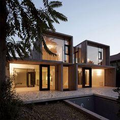 modern house design, chile, window, casa la, architecture interiors, cube, modern houses, la canada, ricardo torrejon