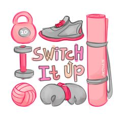 Try out all the different ways to sweat!