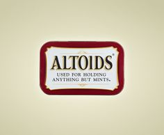 How many times have you fallen victim for being too excited seeing a can of Altoids, only to be disappointed that it has buttons and sewing needles inside?