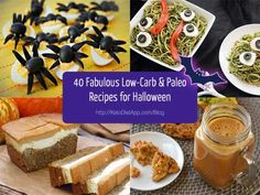 The KetoDiet App Blog | 40 Fabulous Low-Carb & Paleo Recipes for Halloween fabul lowcarb