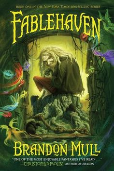 Good blend of non-confusing fantasy and humor. One of the best kids fantasy series in recent years.  Four book series.