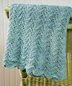 Knit Seaside Waves