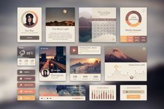 Ui Kit Rainy Season #download