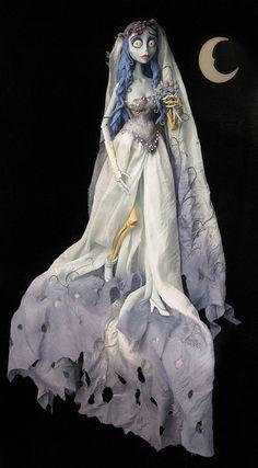 Tim Burton Emily, the Corpse Bride doll