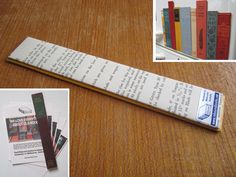 Book Spine Magnets