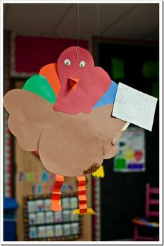 craft with twas the night before thanksgiving