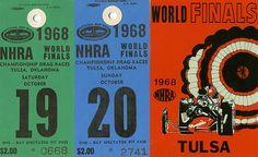 1968 Tulsa World Finals  $2.00 per ticket!!