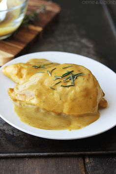 Maple Dijon Chicken by lecremedelacrumb #Chicken #Maple_Dijon