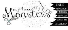 My 3 Monsters: DIY iPhone Wallet Tutorial