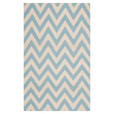 chevron is so cute in light blue and cream!