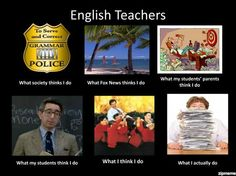 What English teachers do