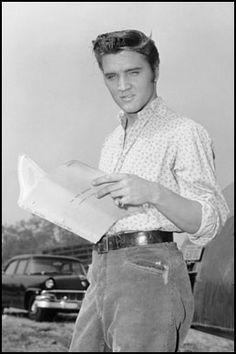 *Elvis...Love Me Tender, 1956 (first movie)