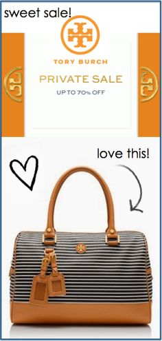 The @ToryBurch 'private' sale is under way! enjoy up to 70% off! ends 10/27. Click through for details. http://rstyle.me/n/r6ycan2bn
