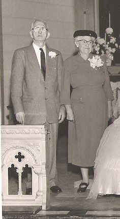 My wife Colette's mom and dad, John and Frances Shannon, Oct. 20, 1956