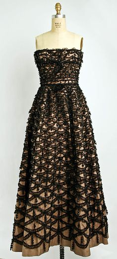 Balenciaga Dress, ca.1955