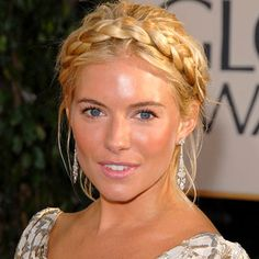 Bohemian Hair Style on Sienna Miller. When I think of Bohemian hair styles, I think of earthy, natural looking. Don't miss these 6 gorgeous Boho styles complete with DIY how to tips and video.