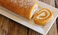 Pumpkin Roll With Maple Cream Cheese Filling - Lovely Little Kitchen