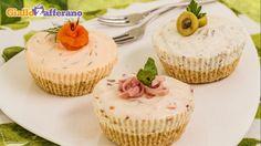 Tris di cheesecake salate