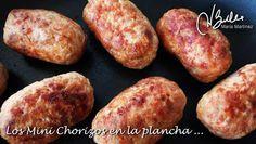 Chorizos Dukan de Pollo: hechos a la plancha