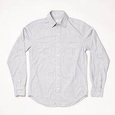 unscruff photography: Shades of Gray Engineer stripe button-up