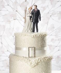 Personalizable Winter Wonderland Wedding Couple | Aureate Expressions Boutique