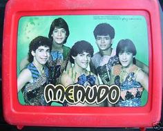 Menudo lunch box - Why didn't I keep this thing?  It's selling for $60 now!