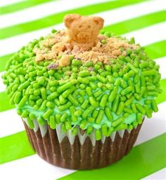 Groundhog Cupcakes.