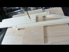Self centering drill press jig - You can learn a lot from a man like Jack who has so much knowledge and skill and willing to share with all. Thanks Jack!  Simple and awesome jig!
