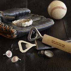 MLB™ baseball bat bottle opener | RedEnvelope.com | gifts for him