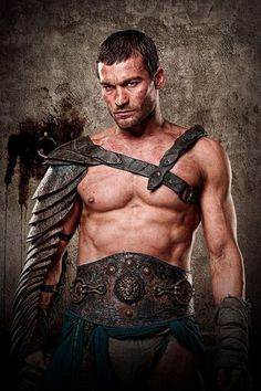 Andy Whitfield<3 Spartacus!!