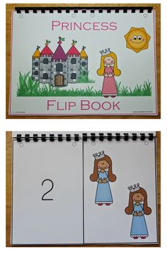 I have added a color princess number flipbook to 1 - 2 - 3 Learn Curriculum - under the Pirate and Princess theme. I also have a B & W file done but that won't be loaded under the Pirate and Princess Worksheets are done... Currently working on that file and should have it loaded any day now. Thank you! Jean