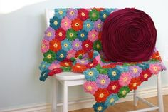 porch swings, crochet afghans, crocheting patterns, hawaiian flowers, susan carlson, blanket patterns, crochet patterns, flower crochet, front porches