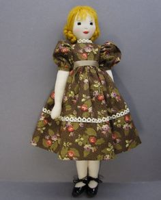 Lilly - An Edith Flack Ackley Pattern Cloth Doll