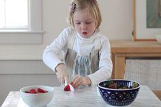 Fruta DIY roll ups, cortada fruta, Gardenista