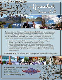 www.grandlakewedding.com #Wedding #DestinationWedding #GrandLake #Colorado