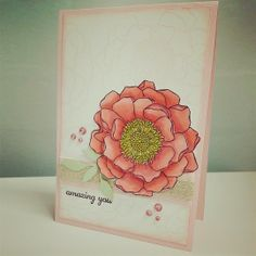 Chlo's Craft Closet - Stampin' Up Demonstrator: Blended Blossom and Blendabilities