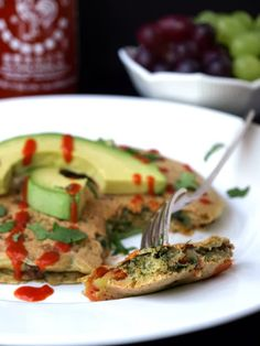 Savory Chickpea Pancake/Flatbread (Gluten Free)