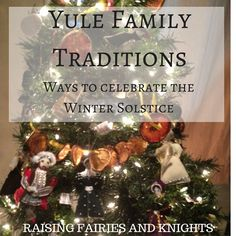 Yule Family Traditio