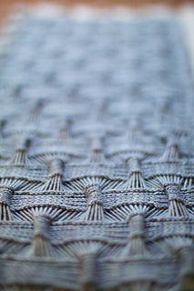 Detail shot of Suke-Suke Cowl pattern design by Olga Buraya-Kefelian