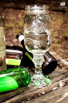 Hillbilly Wine Glass - Too funny!