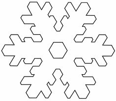 Printable Snowflake Cutouts Images & Pictures - Becuo